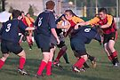Tackled! Welsh Against Scottish by Debbie Pinard