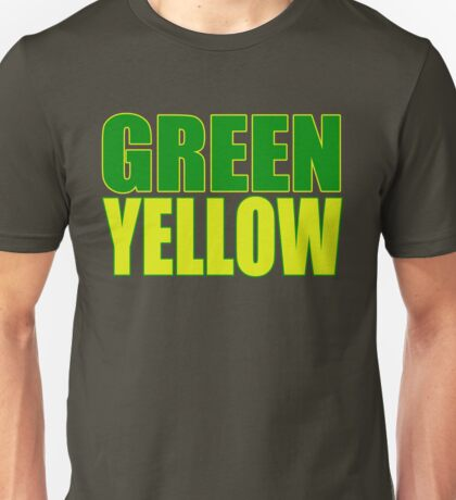 GREEN & YELLOW Unisex T-Shirt