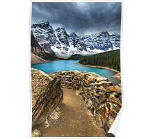 Moraine Lake, Alberta Poster
