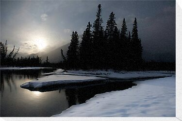 Bow River, Alberta by Mike Traynor Photography