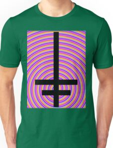 Inverted Psychedelic Cross Unisex T-Shirt