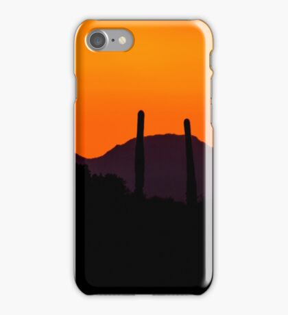 Tucson Sunset 02 iPhone Case/Skin
