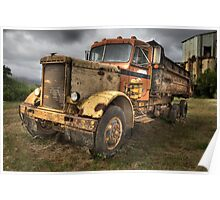 Peterbuilt Truck, Kauai Poster