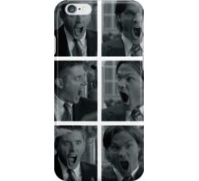 Jared and Jensen Outtake photoset iPhone Case/Skin