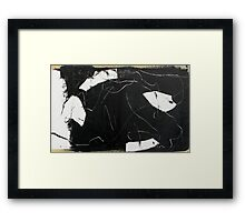 space without time Framed Print