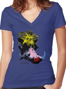 Andy Warthog Women's Fitted V-Neck T-Shirt