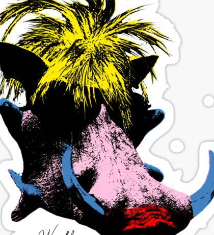 Andy Warthog Sticker