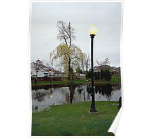 Plaza Pond Poster