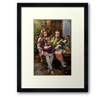 Kid - Our little secret 1915 Framed Print