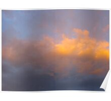 Grecian clouds Poster