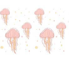 Jellyfish Bubbles Photographic Print