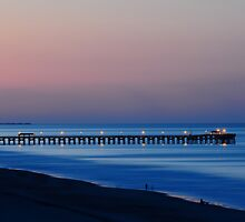 Night at the beach by Jason  Burris