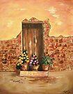 The Door - In Acrylic by teresa731