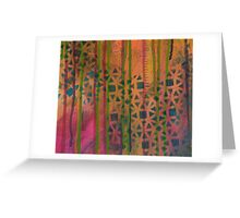 Streaming Down Drips Greeting Card