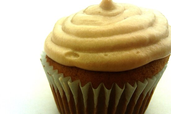 Maple Walnut Cupcake with Maple Butter Frosting by DearMsWildOne
