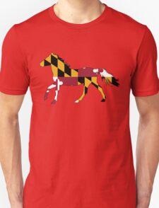 Maryland Flag Horse T-Shirt