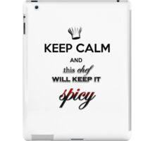Keep calm Chef iPad Case/Skin