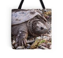Common Snapping Turtle Tote Bag