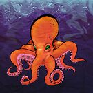Octopus of the Deep_Poster by Katgotclaws