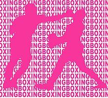 Joe Frazier vs Muhammad Ali Jab Pink by yin888