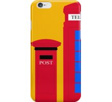 POST & TELEPHONE iPhone Case/Skin