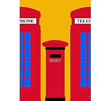 POST & TELEPHONE Photographic Print