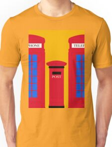 POST & TELEPHONE Unisex T-Shirt