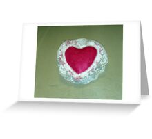 The Heart Sachet Greeting Card