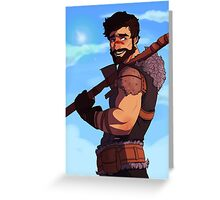 Dragon Age - Garrett Hawke Greeting Card