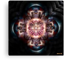 Controlling The Atomic Chaos Canvas Print