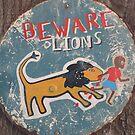 Warning - Lion by v-something
