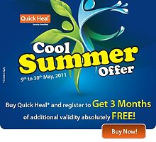 cool summer offer by quickheal