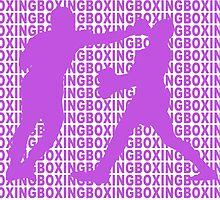 Joe Frazier vs Muhammad Ali Jab Purple  by yin888
