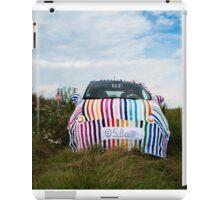 Yarnbombed FIAT 500 iPad Case/Skin