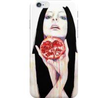 Drink my heart iPhone Case/Skin
