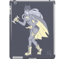 Navy Batgirl iPad Case/Skin