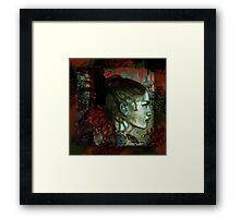 Dark Eden (Graffiti Urban Inspired) Framed Print