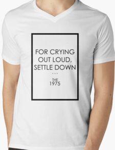 The 1975 - Settle Down Mens V-Neck T-Shirt