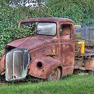 Vintage Truck, Sofala, NSW, Australia by Adrian Paul