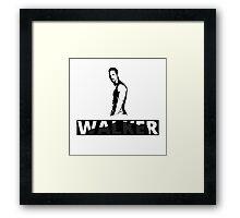 Paul Walker - NISSAN GTR | Black Framed Print