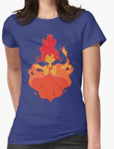 Flame Princess Womens Fitted T-Shirt