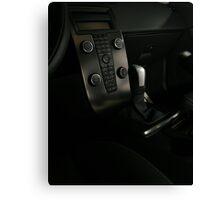 VOLVO C30 R-Design Control Console  Canvas Print