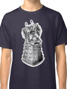 Dr Who Shirt - Pug-Ros Classic T-Shirt