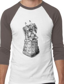 Dr Who Shirt - Pug-Ros Men's Baseball ¾ T-Shirt