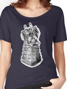Dr Who Shirt - Pug-Ros Women's Relaxed Fit T-Shirt