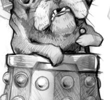 Dr Who Shirt - Pug-Ros Sticker