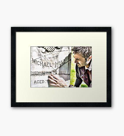 tell Framed Print