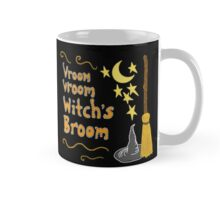 Vroom, Vroom, Witch's Broom Mug