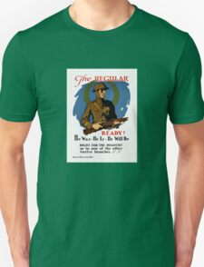 Enlist For The Infantry -- WWI Unisex T-Shirt