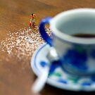 Otra vez todo perdido de azúcar... by Daniel Panea de la Poza